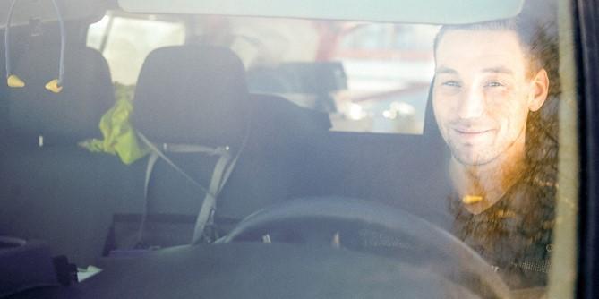 Rørlegger i bil