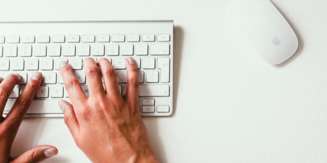 Bilde av tastatur